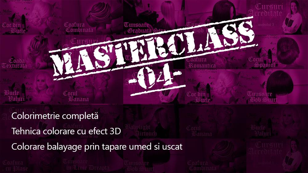 Masterclass04 Colorimetrie completa Tehnica Balayage Colorare 3D