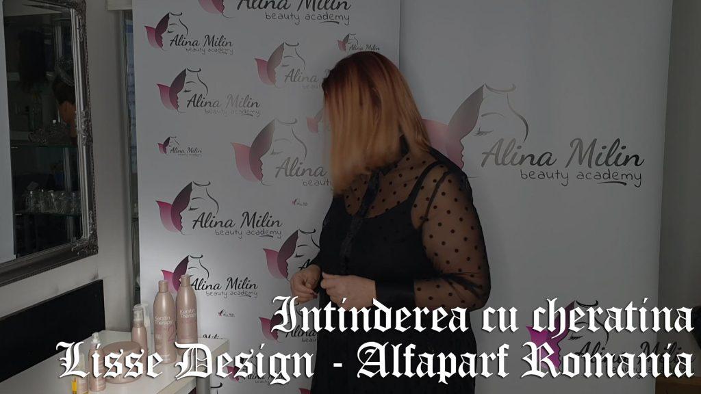 Intinderea cu cheratina Lisse Design de la Alfaparf Romania